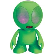 Supersonic Sc-1453Bt Green Bluetooth(R) Alien Portable Speaker (Green)
