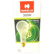 300W Incandescent General Service Clear Bulb