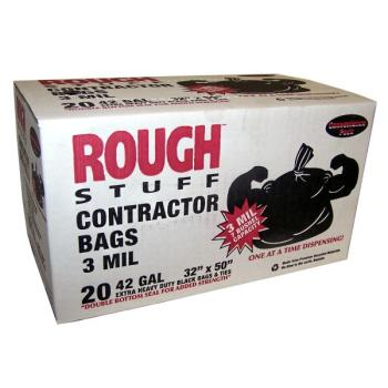 Wholesale Rough Stuff 42 Gallon Contractor Clean Up Bags