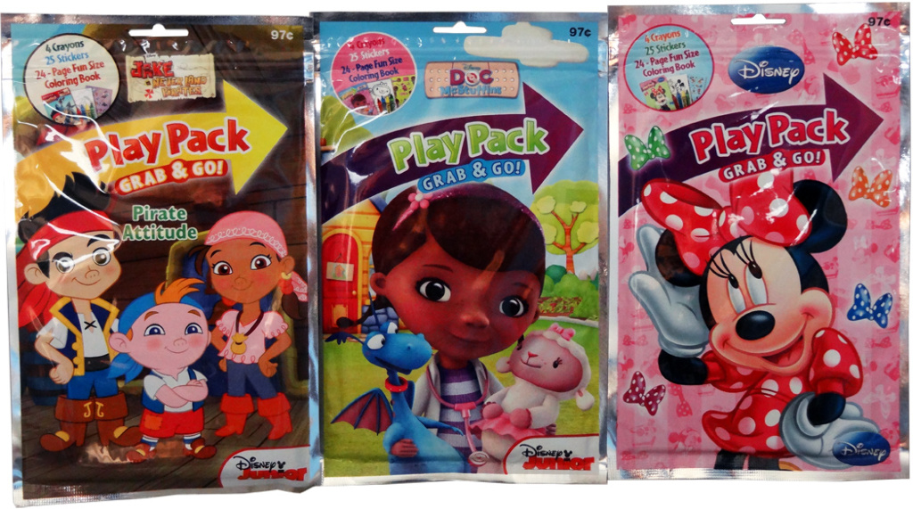 Wholesale Grab Go Assorted Licensed Play Packs For Kids