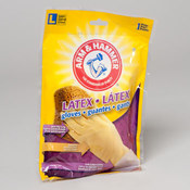 Arm & Hammer Latex Gloves - Large