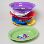 Platter Oval Serving 16.75X12.5 Random Colors