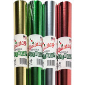 Christmas Foil Gift Wrap - 20f ft. x 30""