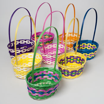 Wholesale easter baskets bulk easter baskets discount easter oval easter basket negle Choice Image