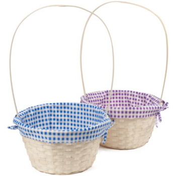 Wholesale easter baskets bulk easter baskets discount easter natural bamboo easter basket negle Choice Image