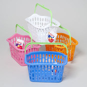 Basket with Plastic Handle & Hook