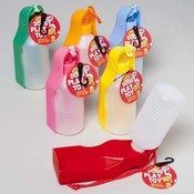 Pet Travel Bottle with Water Dish