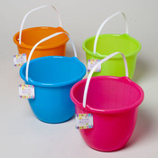 Bright-colored Buckets
