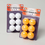 Table Tennis Balls - 6 Pack