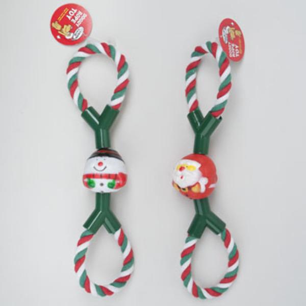 Wholesale Christmas Dog Toy Tug Rope (SKU 2285938) DollarDays