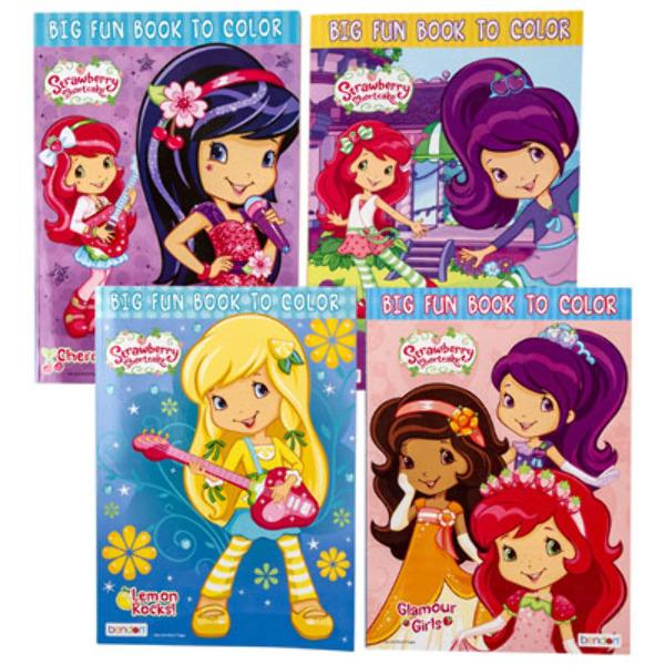 - Wholesale Strawberry Shortcake Coloring Book - Assorted (SKU 2346850)  DollarDays