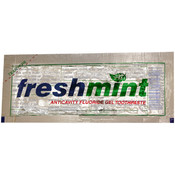 Freshmint Clear Gel Toothpaste Packet .28 oz