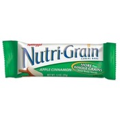 Keebler Nutrigrain Cereal Bars,Low Fat,1.3 oz.,16/BX ,Apple Cinnamon