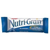Keebler Nutrigrain Cereal Bars,Low Fat,1.3 oz.,16/BX,Blueberry