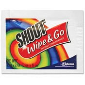 Shout® Individually Wrapped Instant Stain Remover Wipes 80 Count