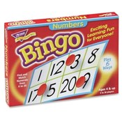 Trend Enterprises  Numbers Bingo, For Ages 4 And Up