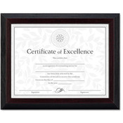 Solid Wood Award/Certificate Frame 8-1/2 x 11