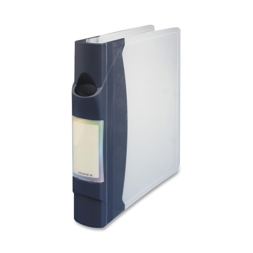 Compucessory CD Media Binder With 15 Pages, 90 Capacity, Gray