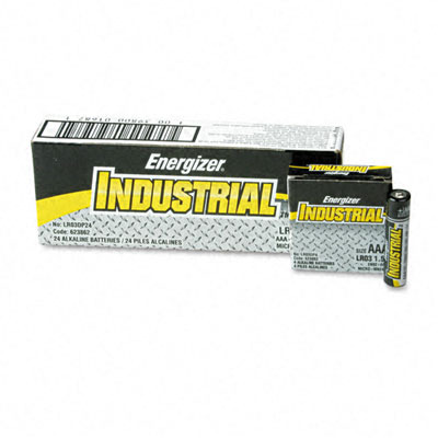 Wholesale Industrial Alkaline Batteries Aaa 24 Batteries(2x$12.59) Sold in lots of 2 @ $12.59 each. Industrial Alkaline Batteries, Aaa, 24 Batteries/Box Qty. in Package: 24