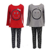 Wholesale Girls Basics - Wholesale Girls Pajamas - Toddler Girls Clothes