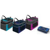 6 Pack Deluxe Collapsible Insulated Cooler