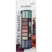 Colormates Cosmetics 12 Pan Long Eyeshadow - Tropical Fusion