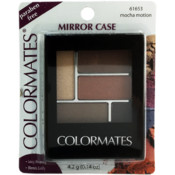 Colormates Cosmetics 5 -Pan Brick Design Eyeshadow - Mocha Motion