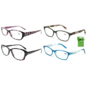 Georgio Caponi Women's Plastic Readers