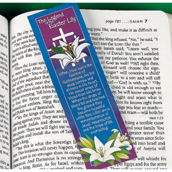 Wholesale Legend Of The Easter Lily Pin And Bookmark Sets