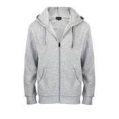 Fergugini Men's Hooded Fleece - Black