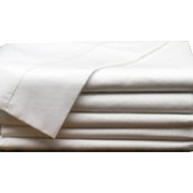 "Standard White Pillowcase T-130 - 42"" x 34"""
