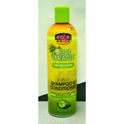 African Pride Oilve Miracle 2 In 1 Shampoo Conditi