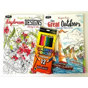 Wholesale Bulk Adult Coloring Book Set