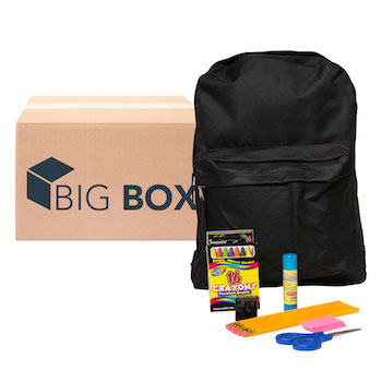 Big Box 13-pc Pre-filled 15 Backpack Kit
