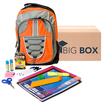 Big Box 28-pc Pre-filled 17 Backpack Kit