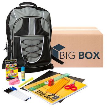 Big Box 23-pc Pre-filled 17 Backpack Kit