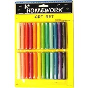 Modeling Clay - 24 sticks asst. colors