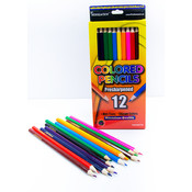 Colored Pencils in Assorted Colors - 12 count
