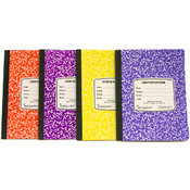 Assorted Colored Marble Composition Book