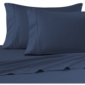 "T-130 Navy Blue Pillowcase - 42"" x 34"""
