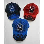 Kids Spider Adjustable Baseball Hats