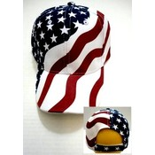 American Flag Adjustable Baseball Hat