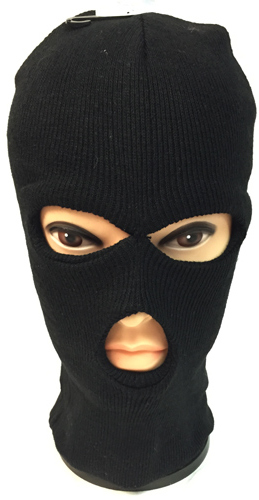 wholesale unisex black ski hat mask one size fits all sku 1930522 dollardays. Black Bedroom Furniture Sets. Home Design Ideas