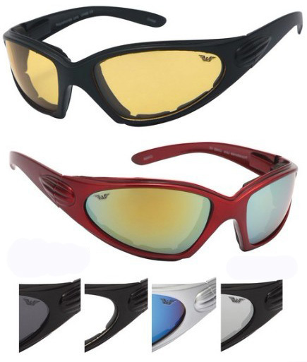 5621c6c63e7 Wholesale Motorcycle Sunglasses - Foam Nose Piece (SKU 993102) DollarDays