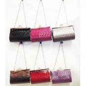 Snakeskin Change Wallets Purses assorted colors