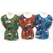 Women's Paisley Printed Top Assorted