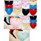 Women's Classic Brief Panties Sizes L-XXL