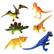 Toy Dinosaur Figures - 3""
