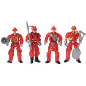 Poseable Firefighters