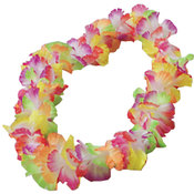 Rainbow Large Petal Hawaiian Leis